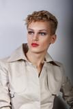 portrait of model girl