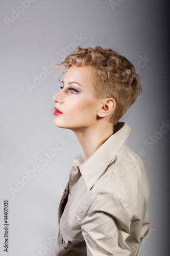 portrait of model girl