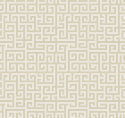 Seamless abstract pattern in greek style