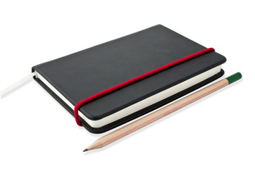 Small black notebook