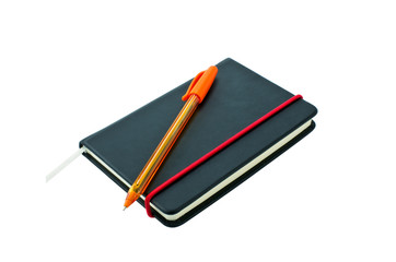 Small black notebook