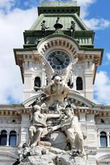 Municipio in Piazza Unità d'Italia, Trieste, Italia 2013
