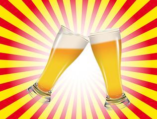 Brindisi con birre