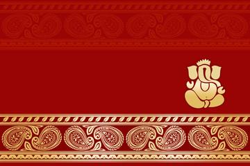 Hindu Wedding Card India