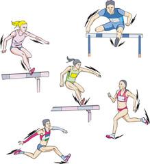 Athletics - run