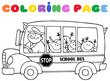 Colornig Page School Bus