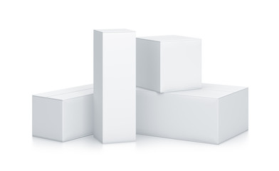 Group of White Boxes.