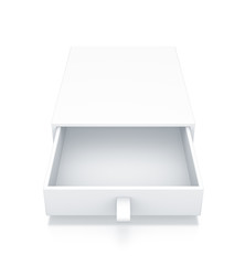 White Drawer Box.