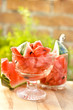 delicious dessert of watermelon