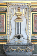 Old antique Ottoman palace fountain.