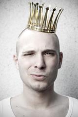 Prinz Charme mit Krone