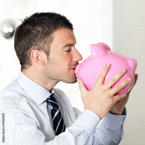 I love my piggy bank
