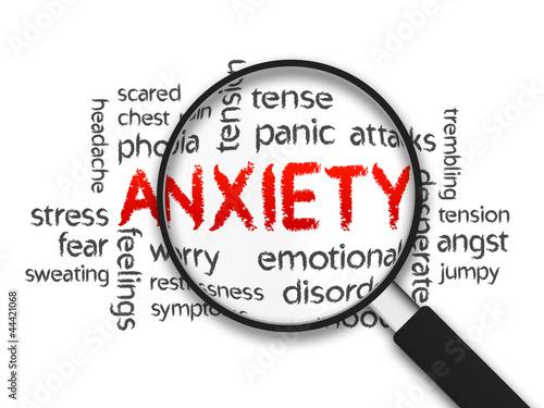 Leinwandbild Motiv Anxiety