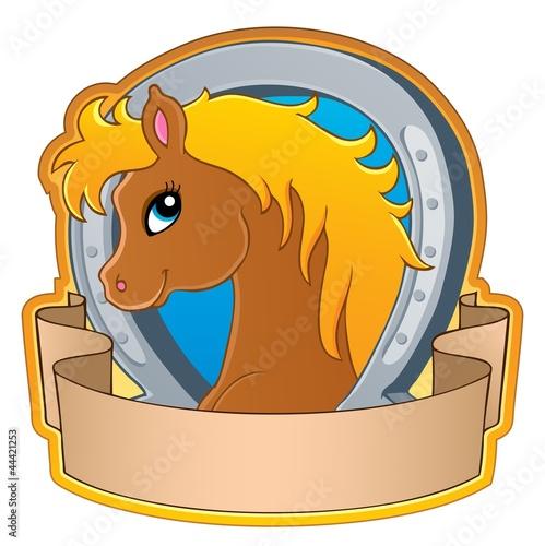 Keuken foto achterwand Pony Horse theme image 3
