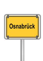 Ortsschild Osnabrück