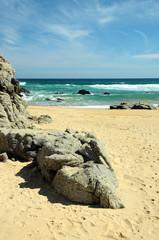 Cile -spiaggia di tunken