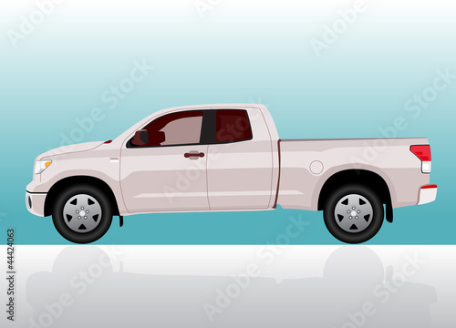 Pick-up truck big