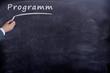 Programm Tafel