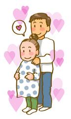 若い夫婦(ハートフル)