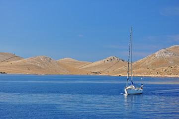 Chorwacja Kornati i yacht