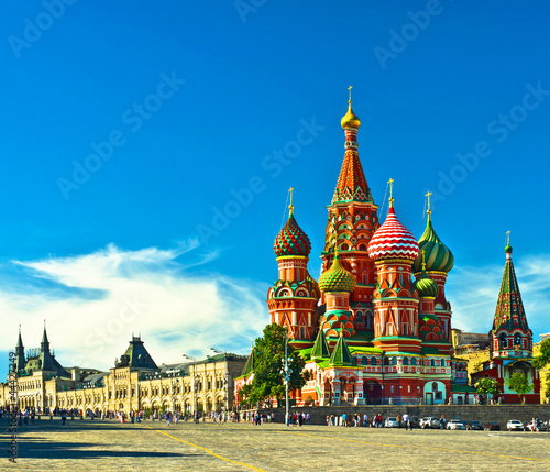 Katedra św. Bazylego; Moskwa, Rosja
