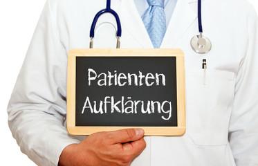 Patienten Aufklärung