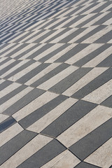 Floor repetitive decoration, Nizza central square