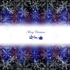 クリスマス 雪 サンタ 背景