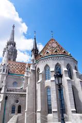 Ungarn, Budapest, Matthiaskirche.