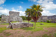 Archaeological ruins of Tulum in Mexico
