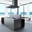 Modern Luxury Loft with luxury kitchen by the sea