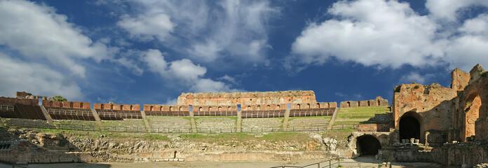 Ancient theatre of Taormina, sicily