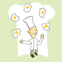 Juggling Chef