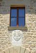 Romagna Apennines, San-Leo village ancient ducal symbol.