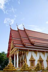 Thai temple, Ubonratchathani Thailand
