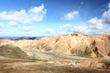 mountains of Landmannalaugar