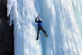 Fototapeta samotnie - alpejskie - Wspinaczka