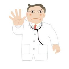 ドクターストップをかける医師