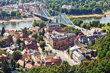 Dresden Blaues Wunder breit
