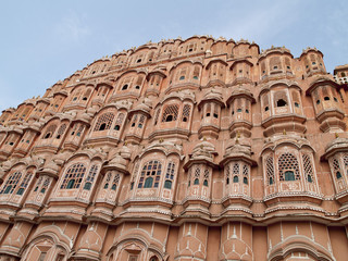 Wind Palace, located in Jaipur, India.