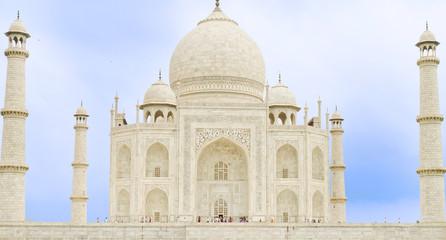 Taj Mahal, Agra(India), una de las 7 maravillas del mundo.