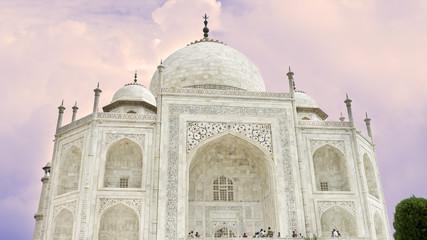 Taj Mahal, una de las 7 maravillas del mundo,Agra,India