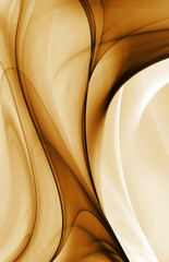 Abstract gold  fractal background