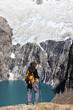 trekking in montagna,patagonia,argentina