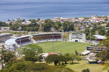 Cricket Stadium on Dominica