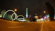 Berlin ICC and Funkturm Timelapse with Traffic in Full HD 1080p