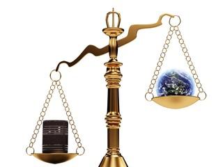 Bilancia ecosistema, equilibrio terra petrolio