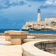 The castle of El Morro in Havana