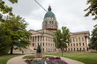Kansas State House and Capitol Building in Topeka, KS