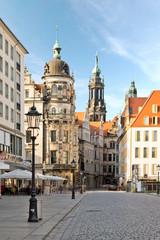 Dresden Altstadt Himmel